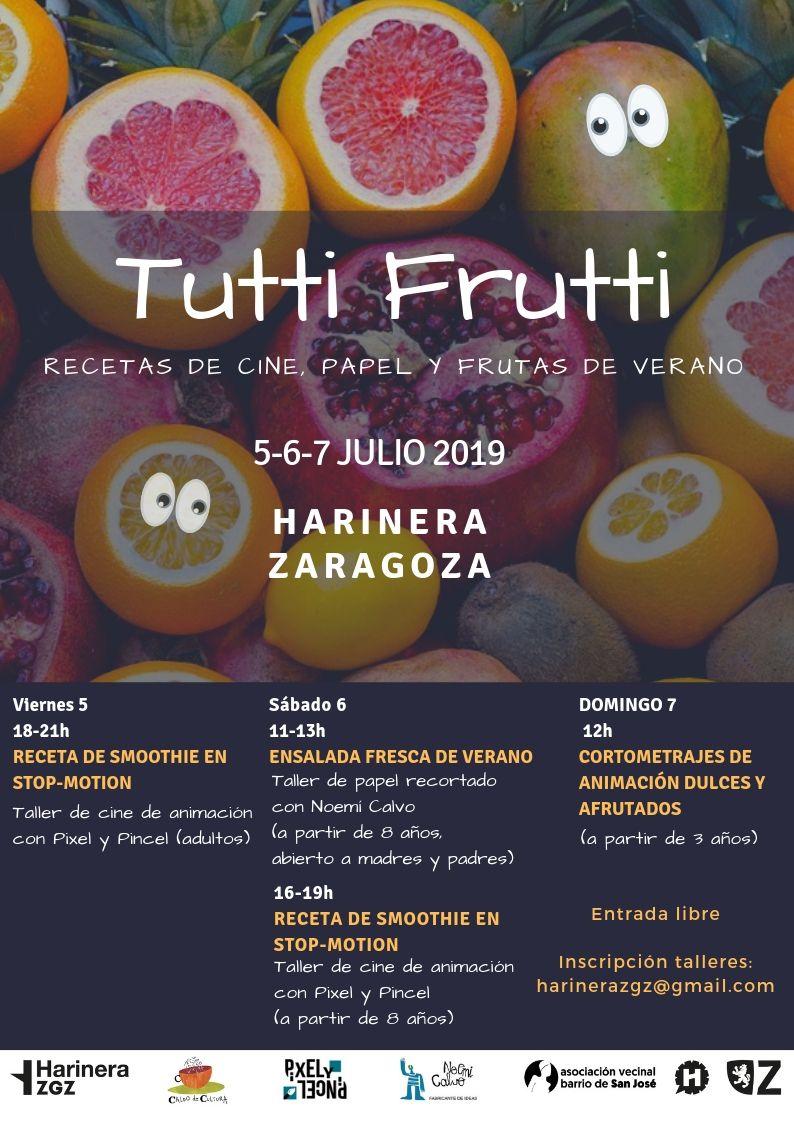 Tutti Frutti Recetas De Cine Papel Y Frutas De Verano Caldo De